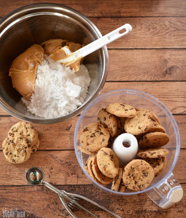 Peanut Butter Cookie Balls Step 1
