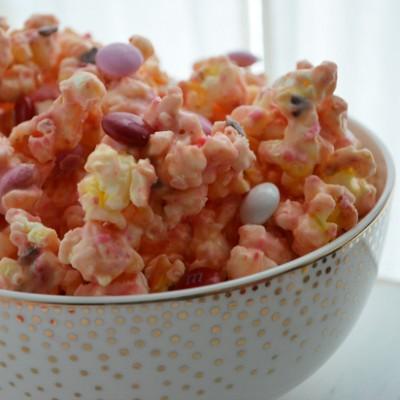 Valentine Cake Mix Popcorn