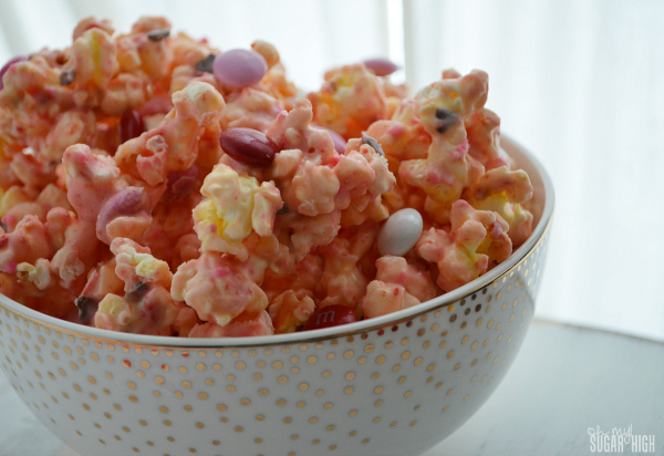 Valentine Cake Mix Popcorn Oh My Sugar High