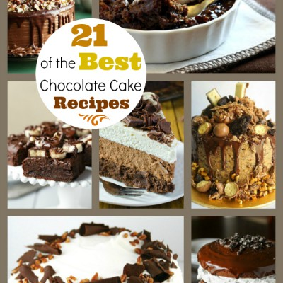 21 of the Best Chocolate Cake Recipes