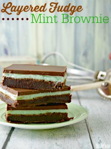 Fudge Mint Brownie Recipe