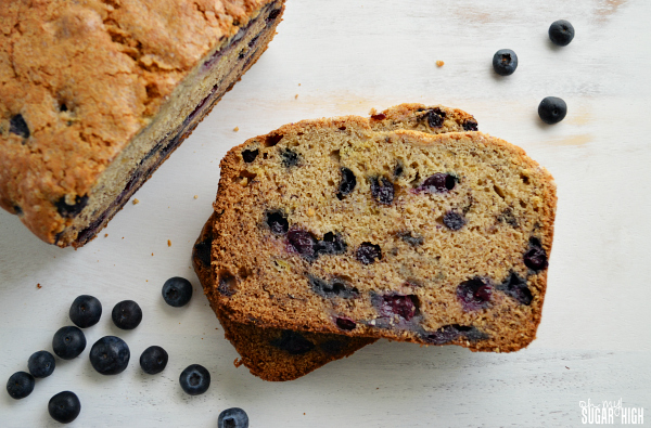 Blueberry Banana Bread Recip