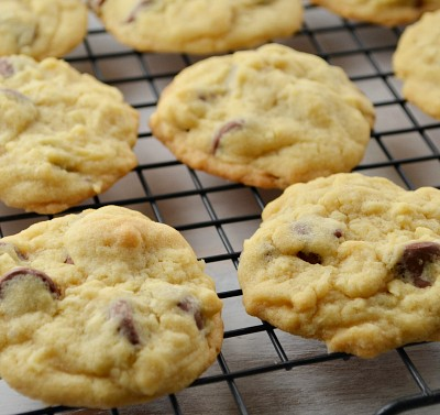 Chewy Coconut and Chocolate Chip Cookies