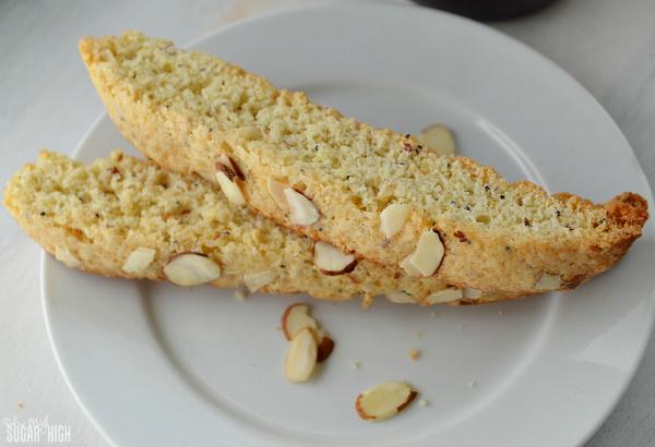 Almond Lemon Biscotti