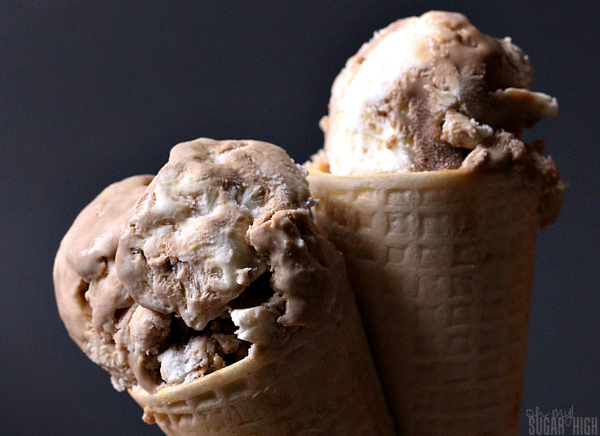 Root Beer Float No Churn Ice Cream Recipe