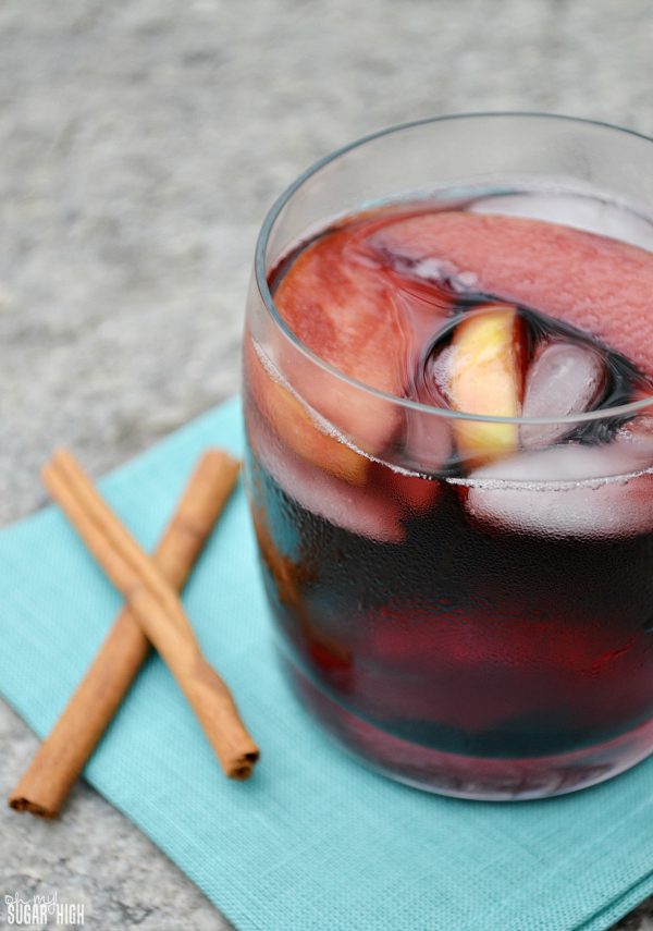 Best Apple Cinnamon Sangria