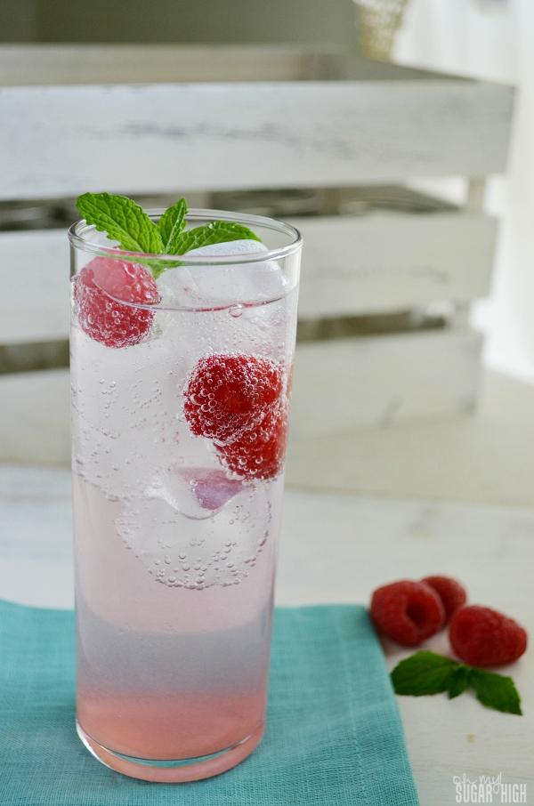Raspberry Sparkling Water