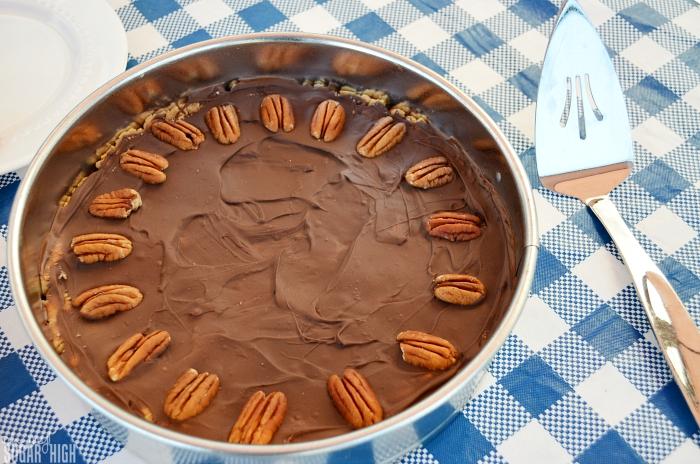 Chocolate Peanut Butter Cookie Pie Recipe