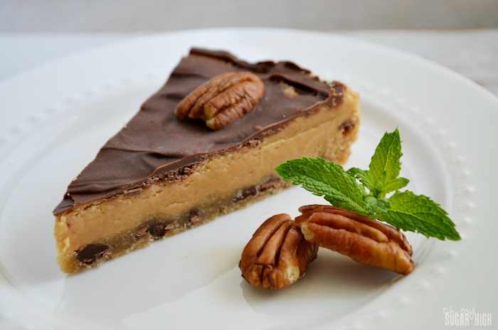 Chocolate and Peanut Butter Cookie Pie Recipe