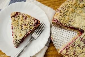 Raspberry Cream Cake