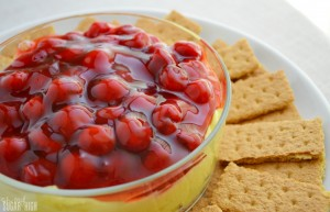 Easy Cherry Cheesecake Dip