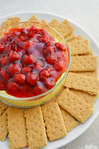 Cherry Lemon Cheesecake Dip