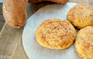 Homemade Sweet Potato Biscuits
