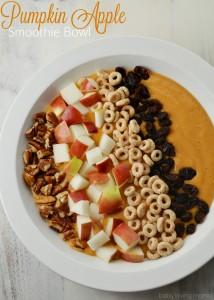 Pumpkin Apple Smoothie Bowl