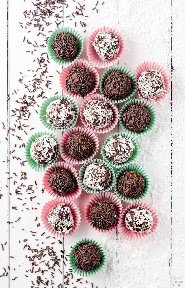Rum Balls are a perfect truffle-like confection. Rich and decadent, you won't be able to resist these no-bake chocolate rum balls! Whether you make them yearly as part of your holiday baking tradition or just have a chocolate craving, you can't go wrong with this traditional sweet.